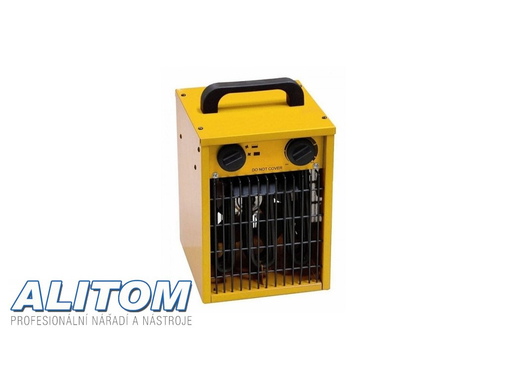 Elektrické topidlo MASTER s ventilátorem B 1,8 ECA