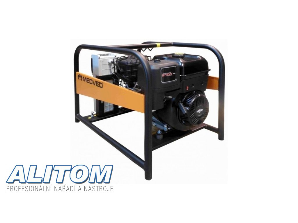 Profesionální jednofázová elektrocentrála ARCTOS 8000 B