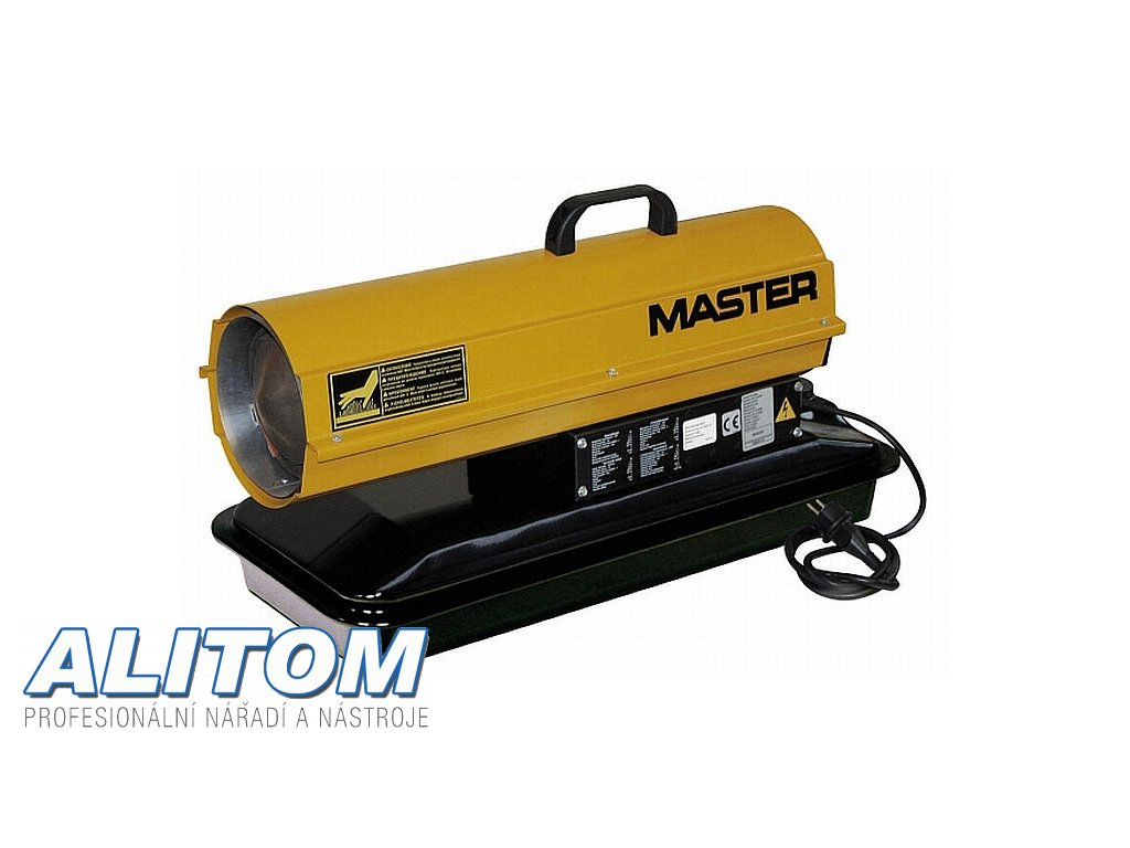 Mobilní naftové topidlo MASTER B 65 CEL s přímým spalováním