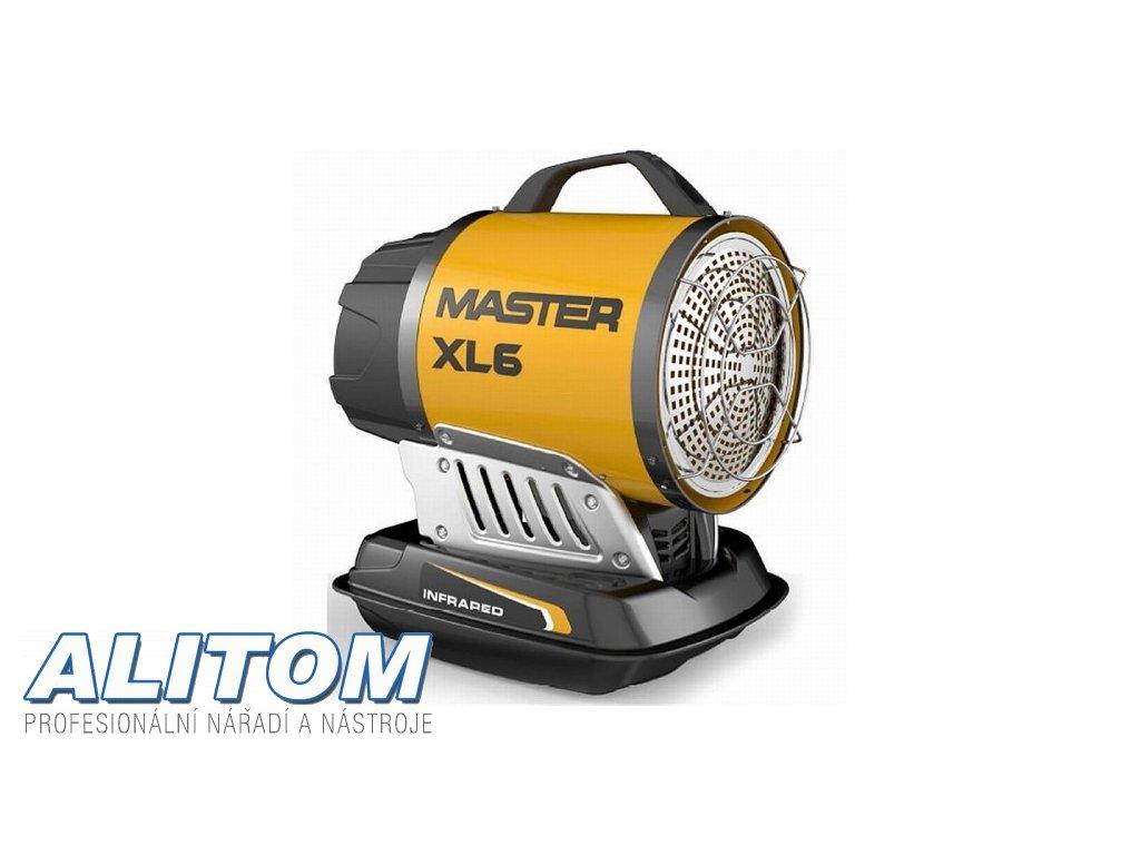 Mobilní naftové infračervené topidlo MASTER XL 61