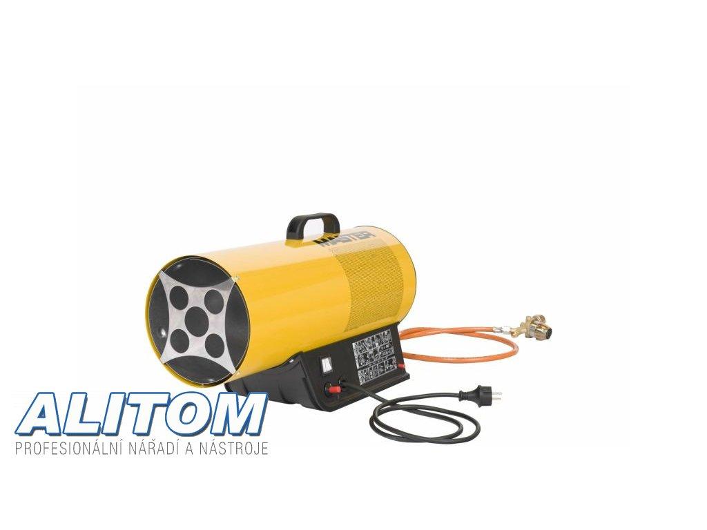 Plynové topidlo MASTER  BLP 53 M  s ventilátorem a regulací výkonu