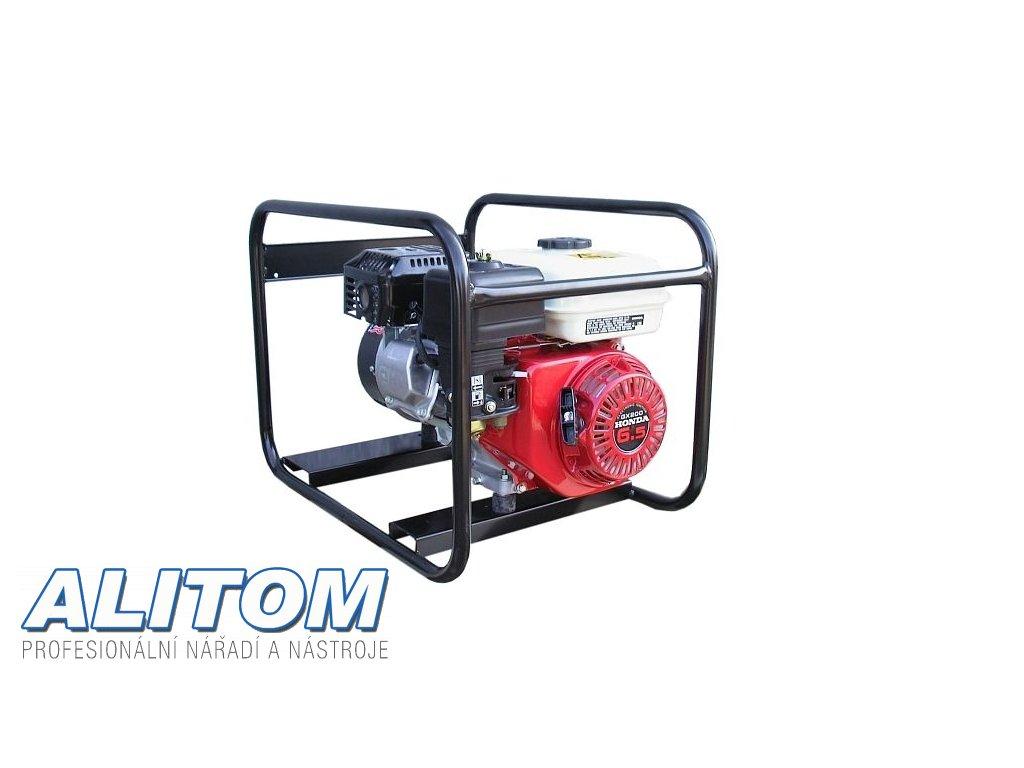 Profesionální jednofázová elektrocentrála EP 3300 AVR