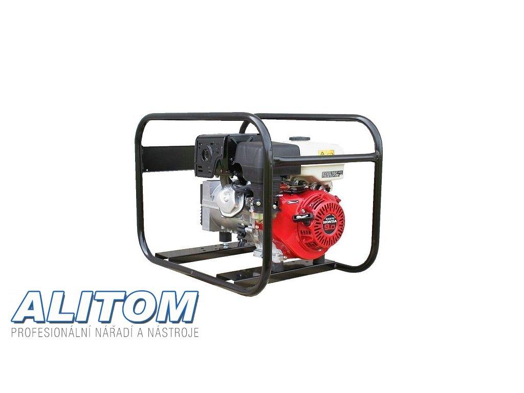 Profesionální jednofázová elektrocentrála EP 4100