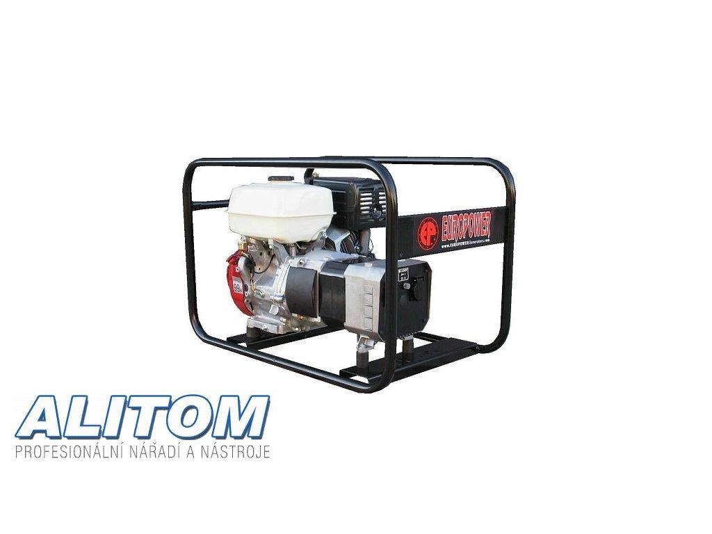 Profesionální jednofázová elektrocentrála EP 6000 AVR
