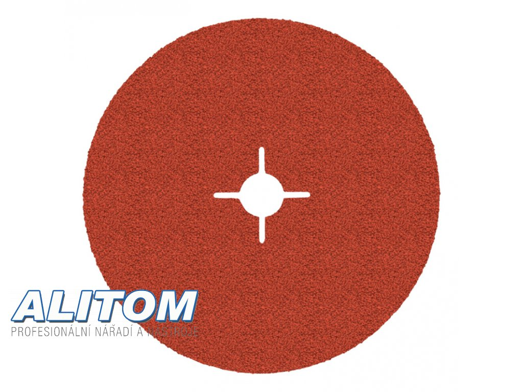 Vulkanfíbrový disk 987C 180x22 P80 CUBITRON II