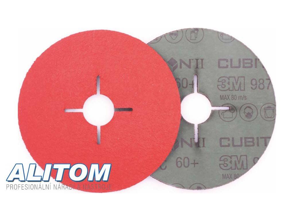 Vulkanfíbrový disk 987C 180x22 P36 CUBITRON II