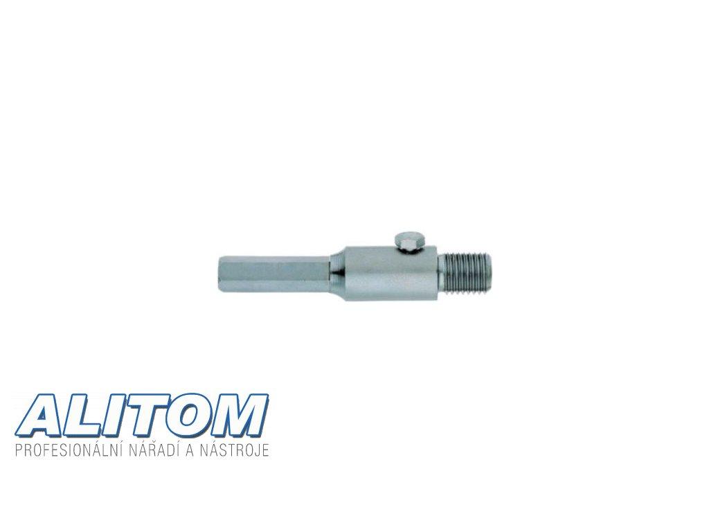 Spojka M16 pro vodící vrták 6 mm šroub + vyrážecí klínek pro korunky ARID