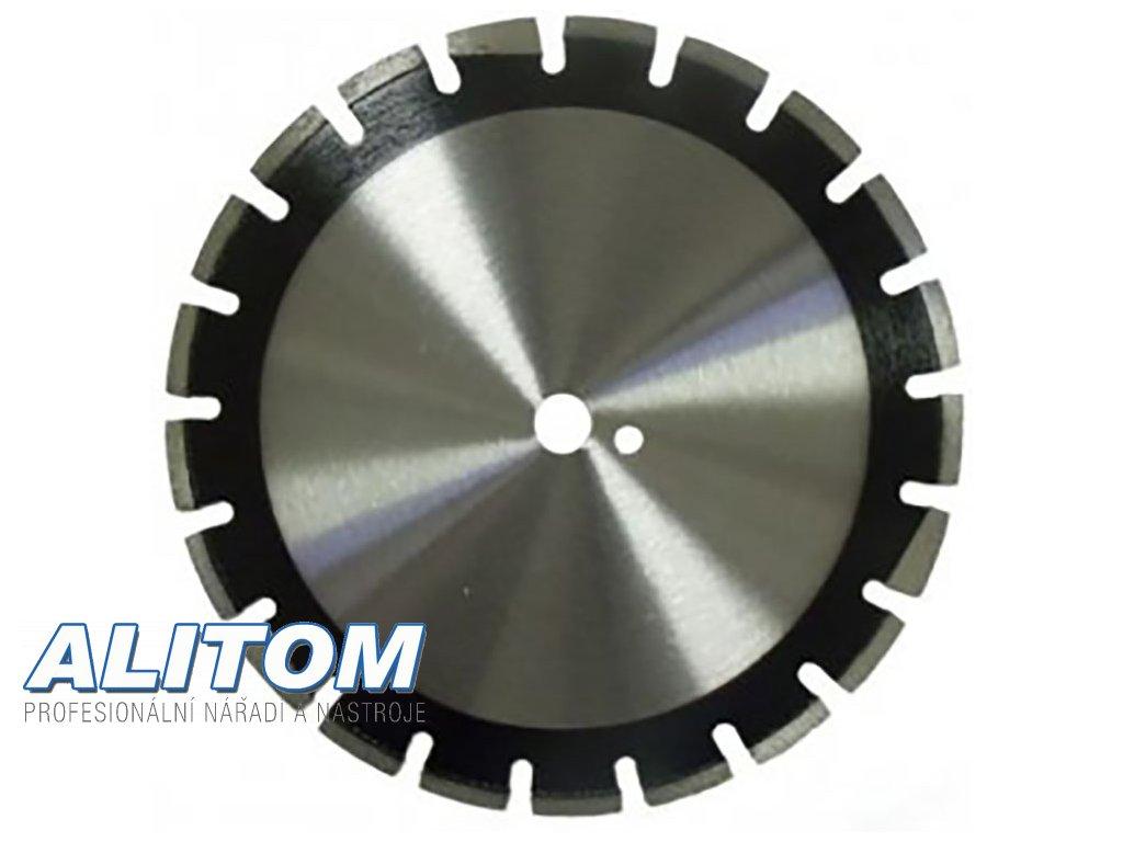 Diamantový kotouč ASFALT LASER průměr 450x25,4 mm výška segmentu 10 mm