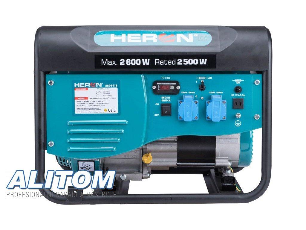 Elektrocentrála jednofázová HERON EMG 30 AVR
