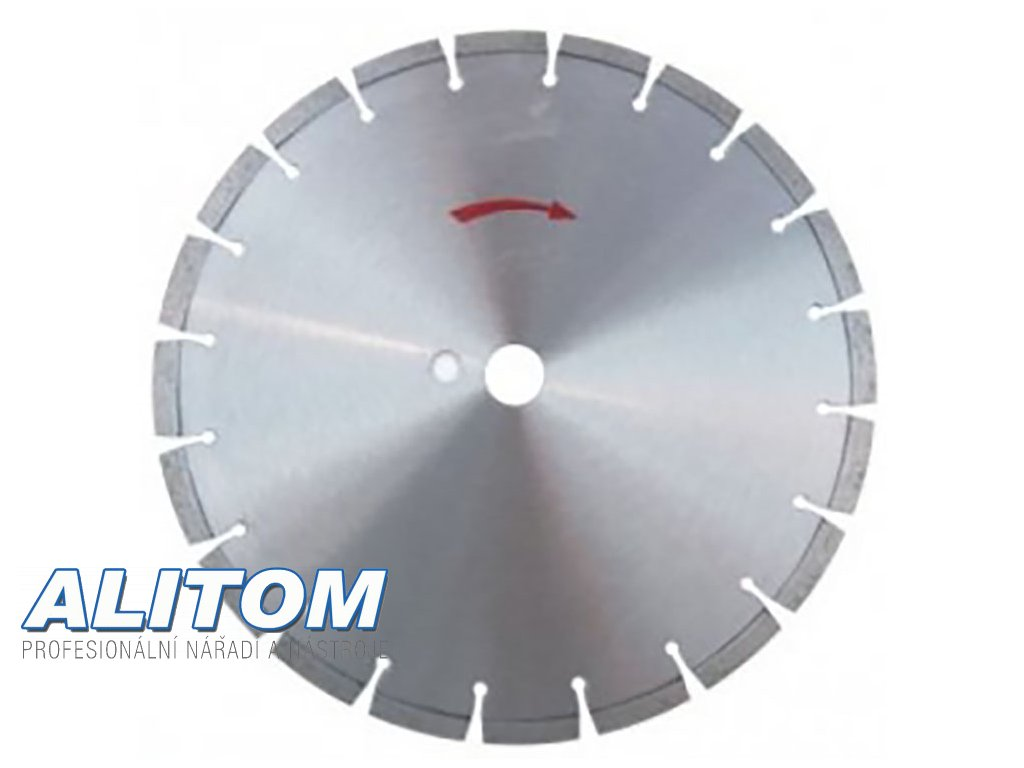 Diamantový kotouč Beton LASER  průměr 500x25,4 mm výška segmentu 10 mm