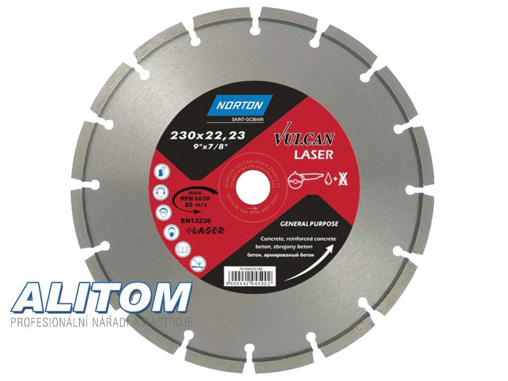 Diamond Blades VULCAN LASER Norton 61480
