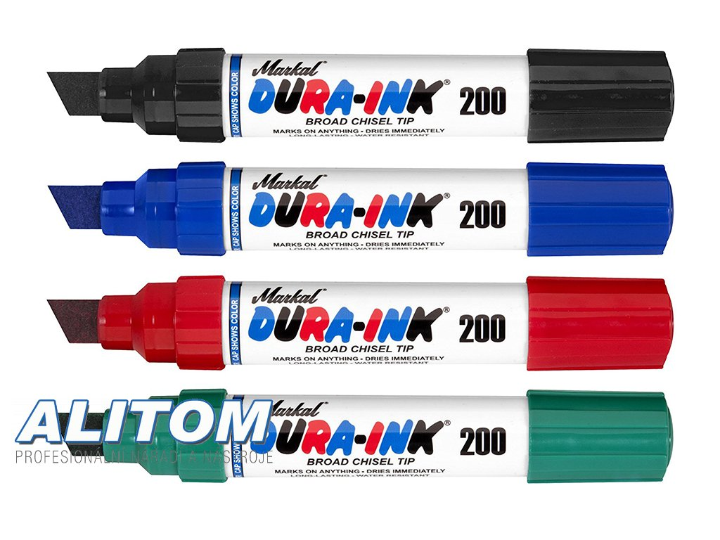 Permanentní fix Dura Ink 200 6 ks