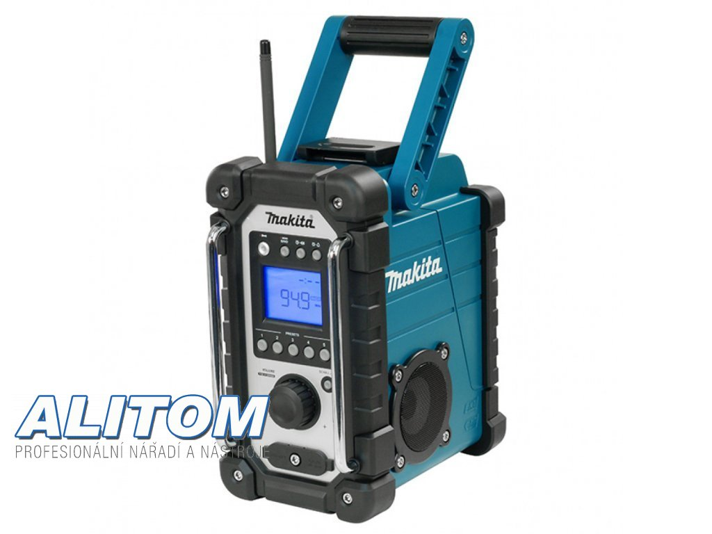 34192 makita dmr108 akumulatorove radio bez akumulatoru a nabijecky
