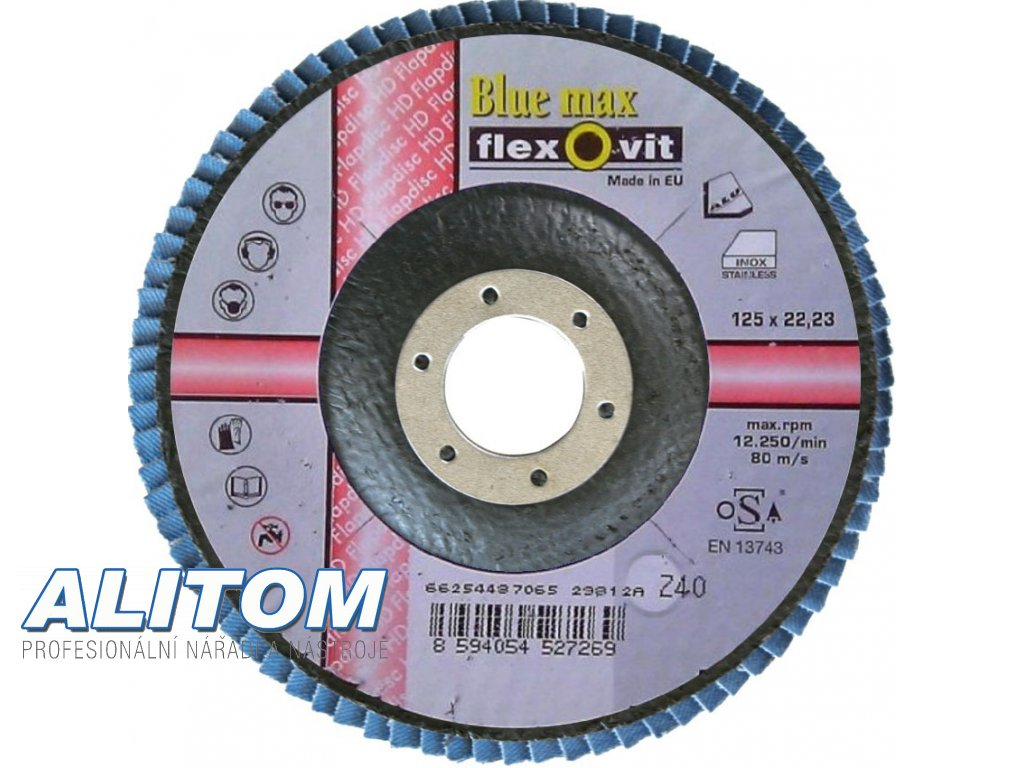 Flexovit bluemax