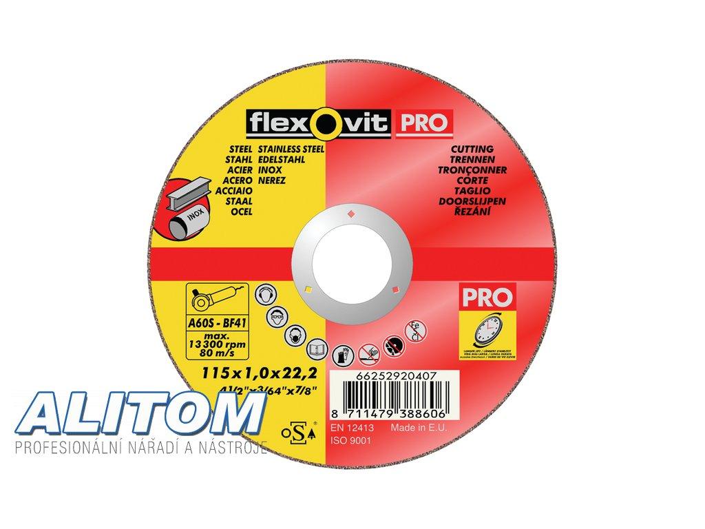 Flexovit PRO sample thin wheel 6513