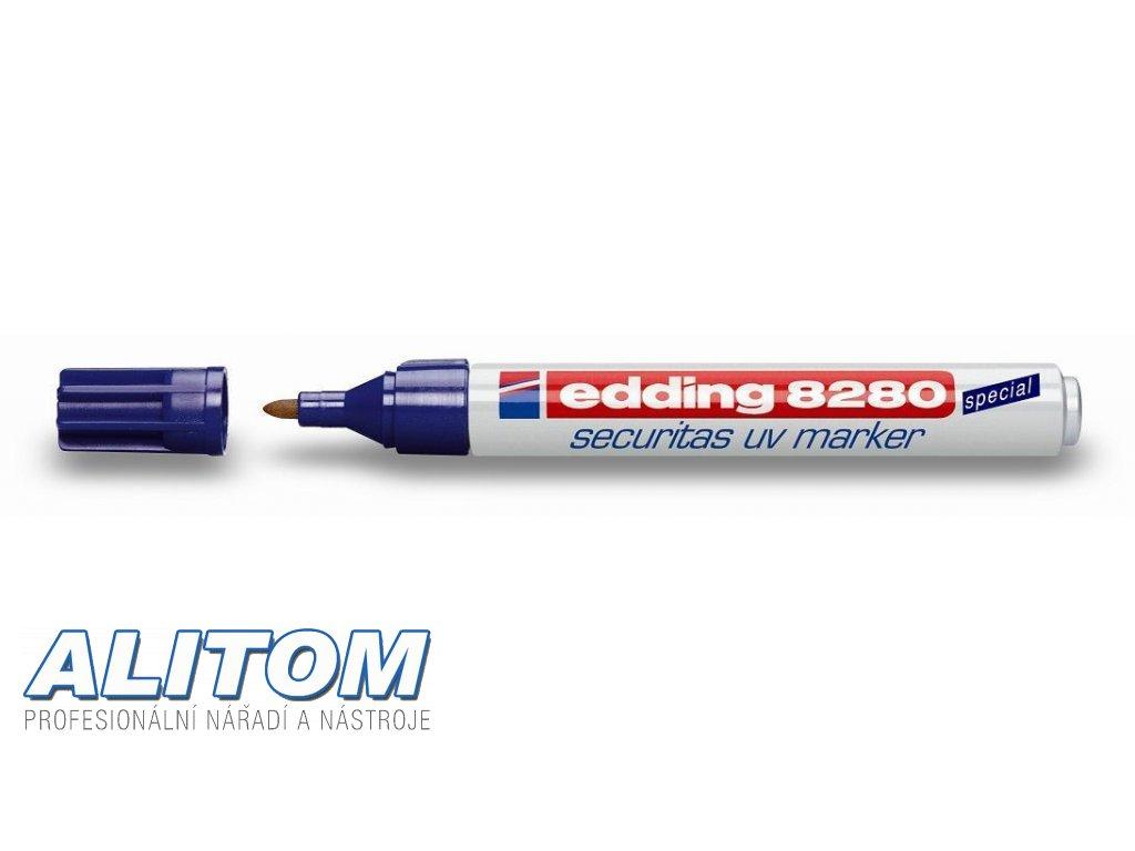 UV popisovač, Průmyslový popisovač edding 8280 Ultrafialový