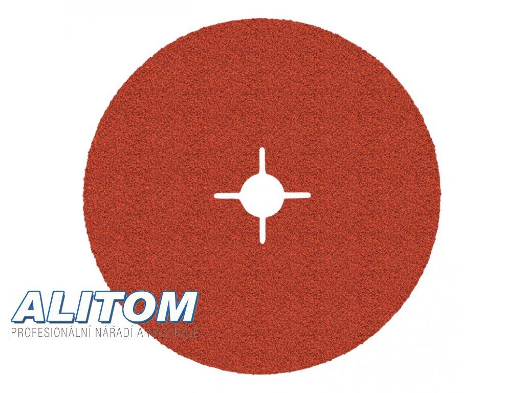 Vulkanfíbrový disk 987C 125x22 P80 CUBITRON II