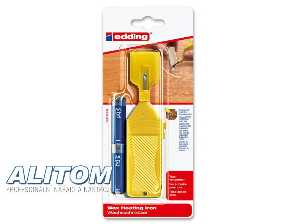 Edding 8903 tavící špachtle pro vosk na opravu dřevěné podlahy