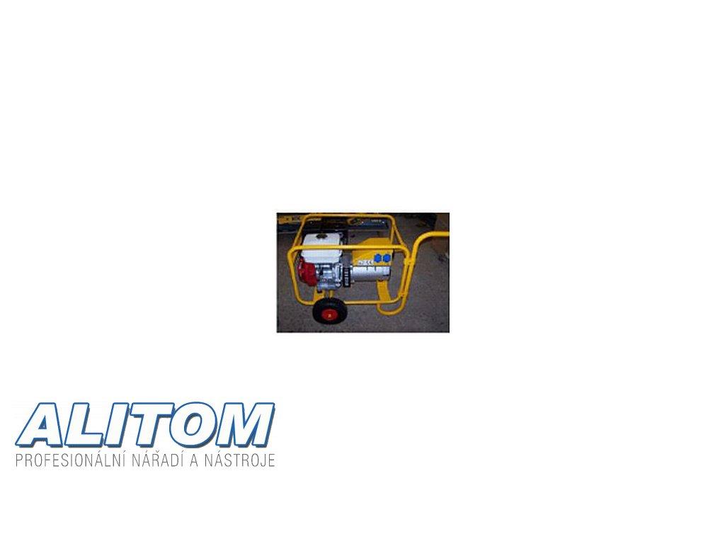 Podvozek k elektrocentrálám NTC TR a TRT