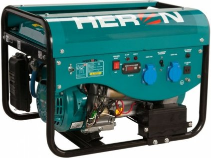 Elektrocentrála benzínová a plynová HERON  LPGG 22  3HP/2,4kW