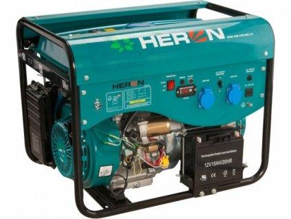 Elektrocentrála benzínová a plynová HERON LPGG 50 13HP/5,0kW