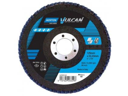 CA Flap Discs Norton Vulcan Zirconi 67809