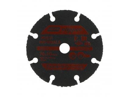 Řený kotouč 125x22,23 mm Galvanická karbid