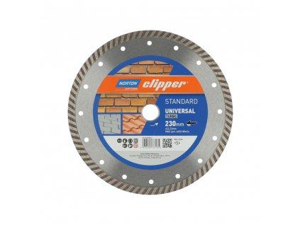 70184608563 Norton Clipper Blades STANDARD UNIVERSAL TURBO 230mm 160546