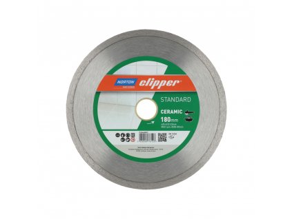 70184608557 Blades Norton Clipper STANDARD CERAMIC 180mm 25.4 22.23mm 160536