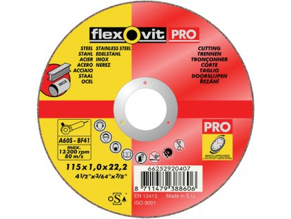 Flexovit PRO sample thin wheel 6513