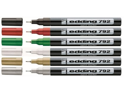Lakový popisovač Edding 792 10 Ks