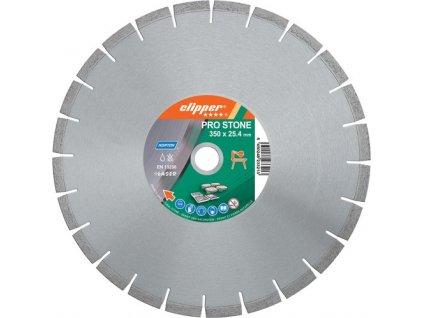 Diamantový kotouč CLIPPER PRO STONE 450X25,4 12/3,6