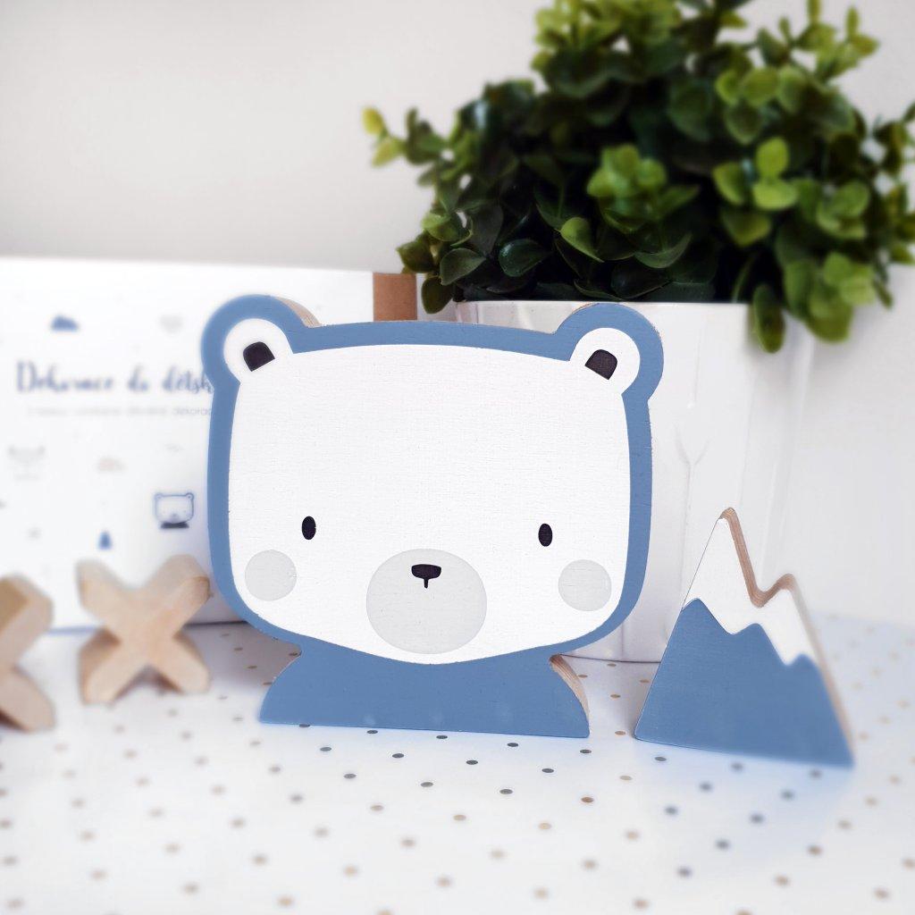 bear blue box