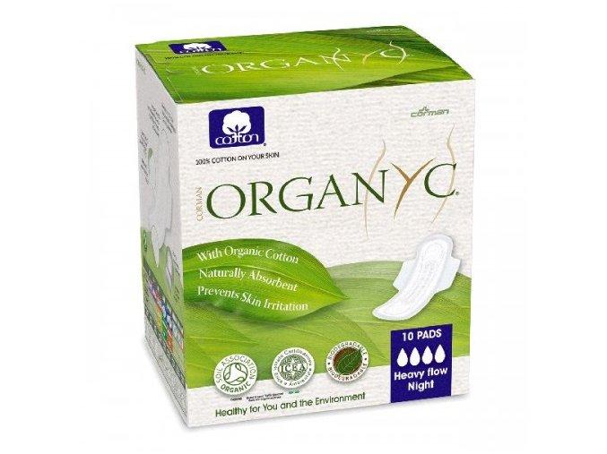01291 organyc damske vlozky z organickej bavlny silne krvacanie 10 ks 500x500