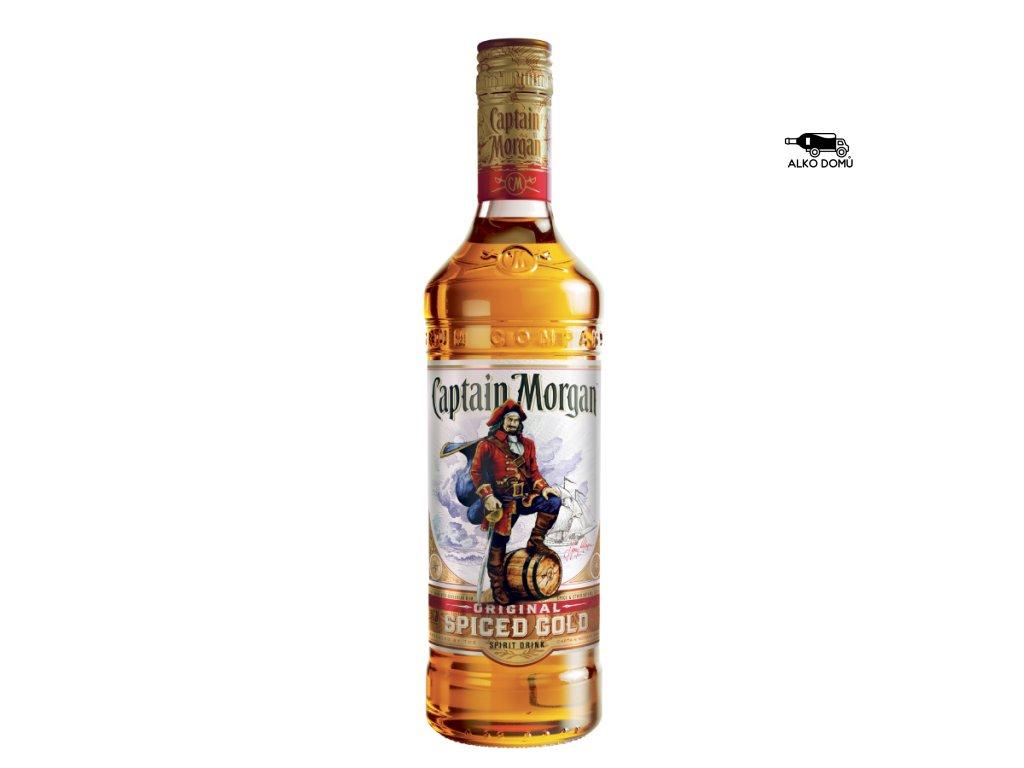 CAPTAIN MORGAN ORIGINAL SPICED RUM Rozvoz alkoholu Praha