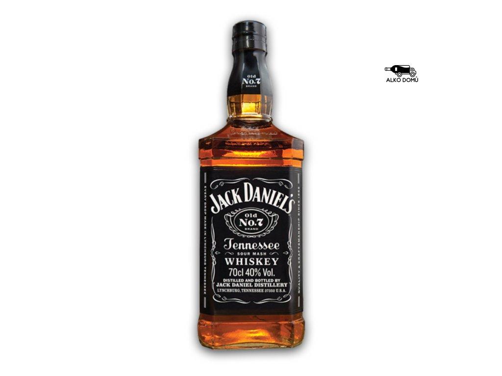 JACK DANIEL'S WHISKEY Rozvoz alkoholu Praha