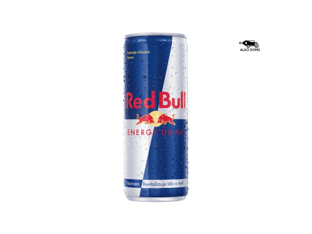 RED BULL ENERGY DRINK 0,25l Rozvoz alkoholu Praha