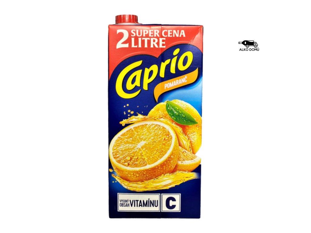 CAPRIO POMERANČ DŽUS 2L Rozvoz alkoholu Praha