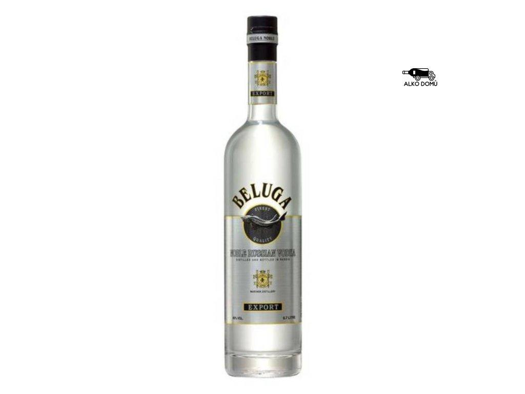 BELUGA VODKA Rozvoz alkoholu Praha