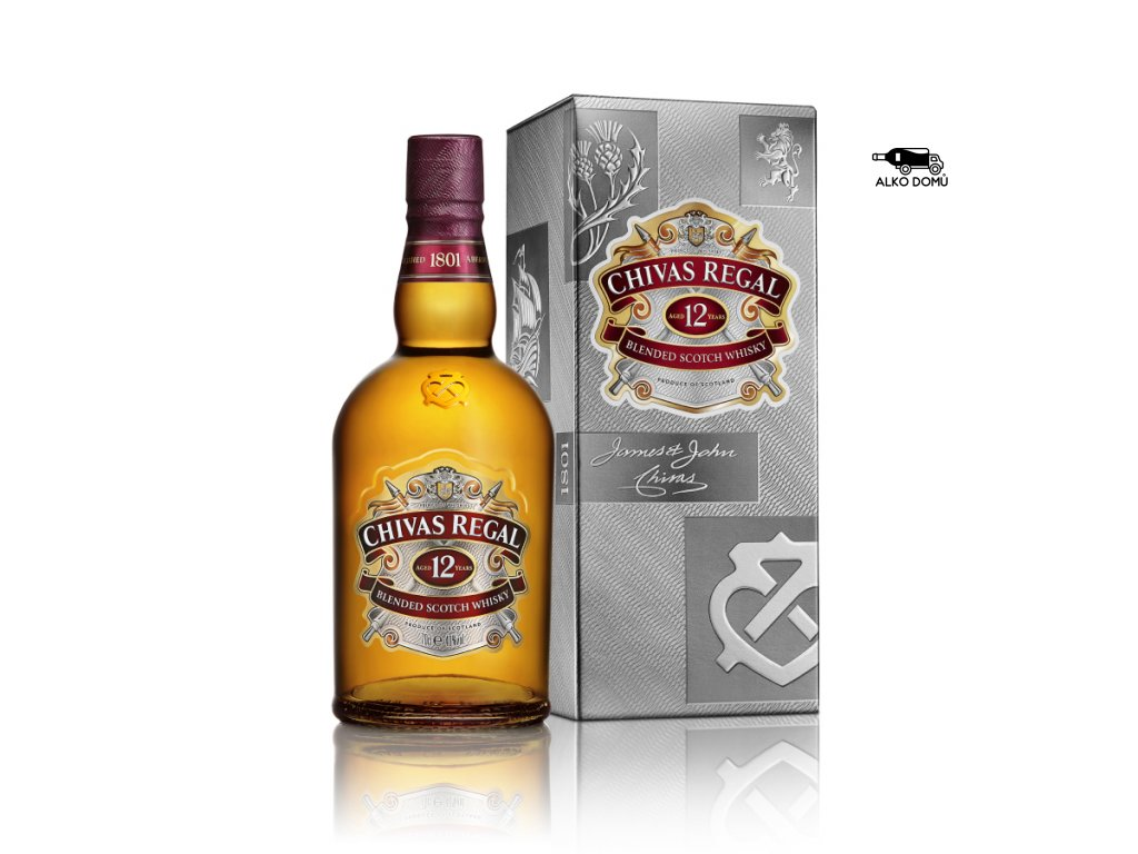 CHIVAS REGAL 12 WHISKY Rozvoz alkoholu Praha
