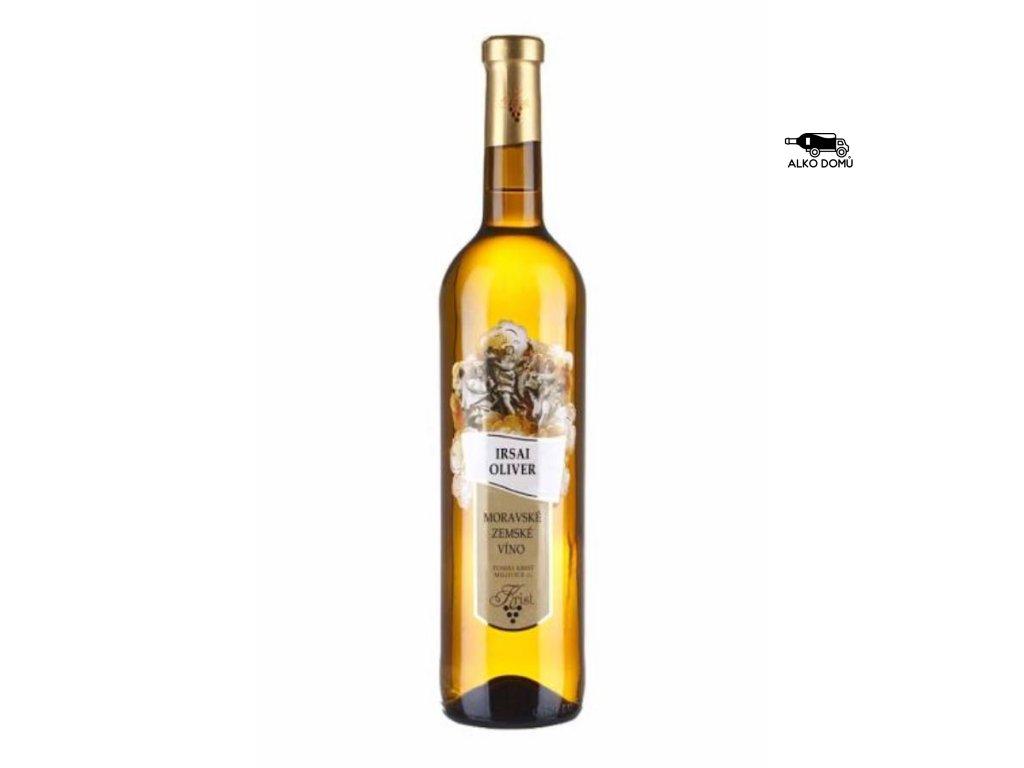 IRSAI OLIVER POLOSLADKÉ BÍLÉ VÍNO Rozvoz alkoholu Praha