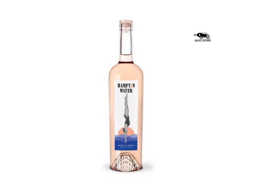 hampton water. nejlepší rosé. rozvoz alkohollu praha