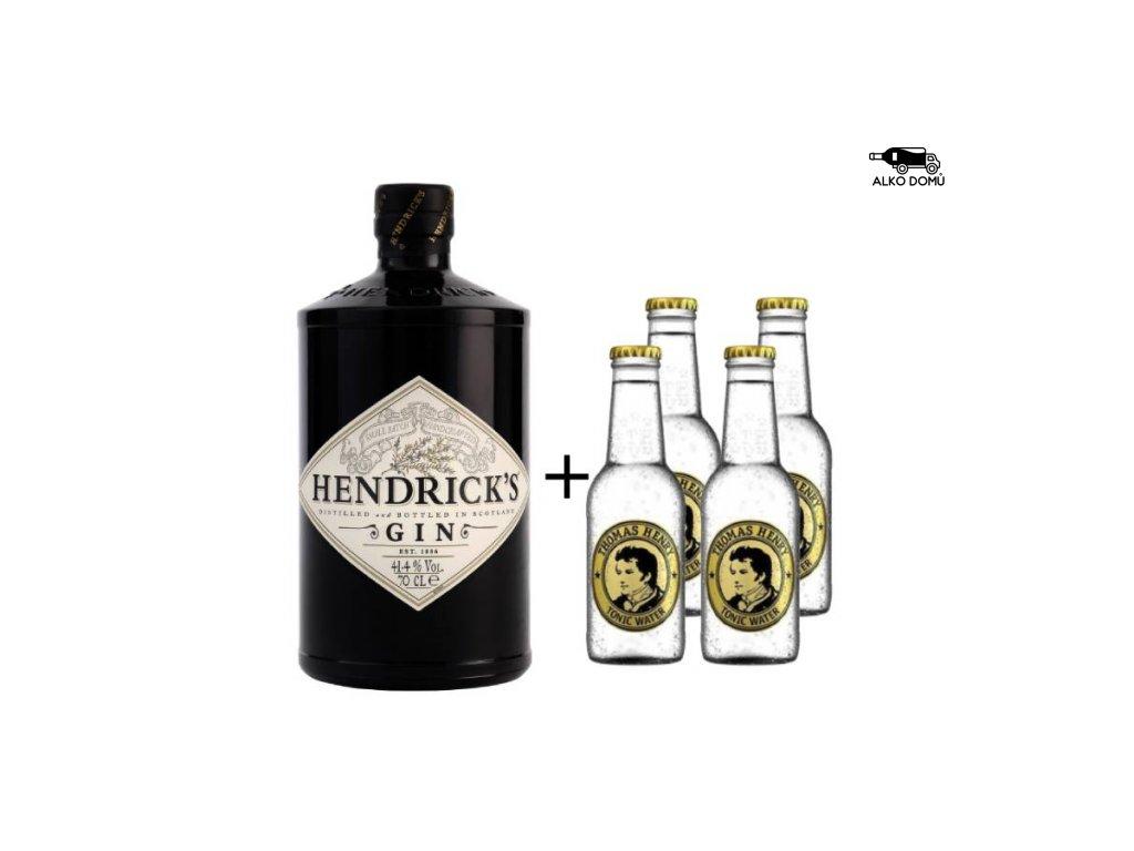 HENDRICK'S GIN THOMAS HENRY ROZVOZ ALKOHOLU PRAHA
