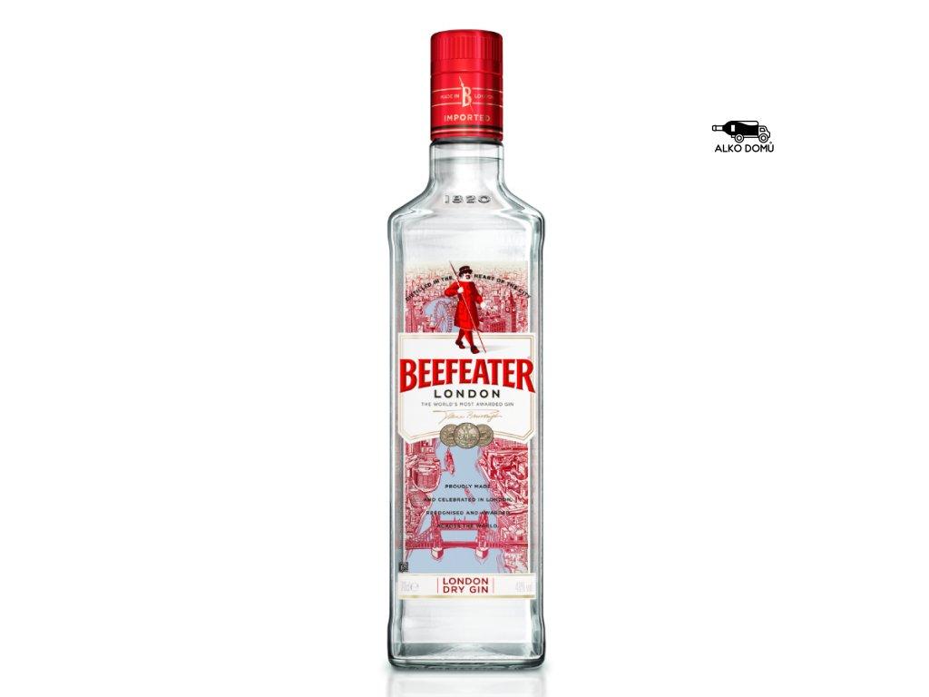 BEEFEATER LONDON DRY GIN Rozvoz alkoholu Praha