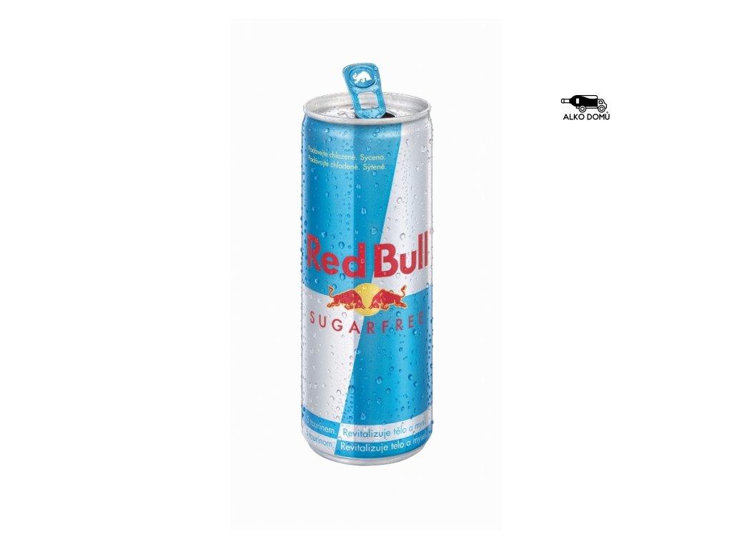 Red Bull Sugarfree Rozvoz alkoholu Praha