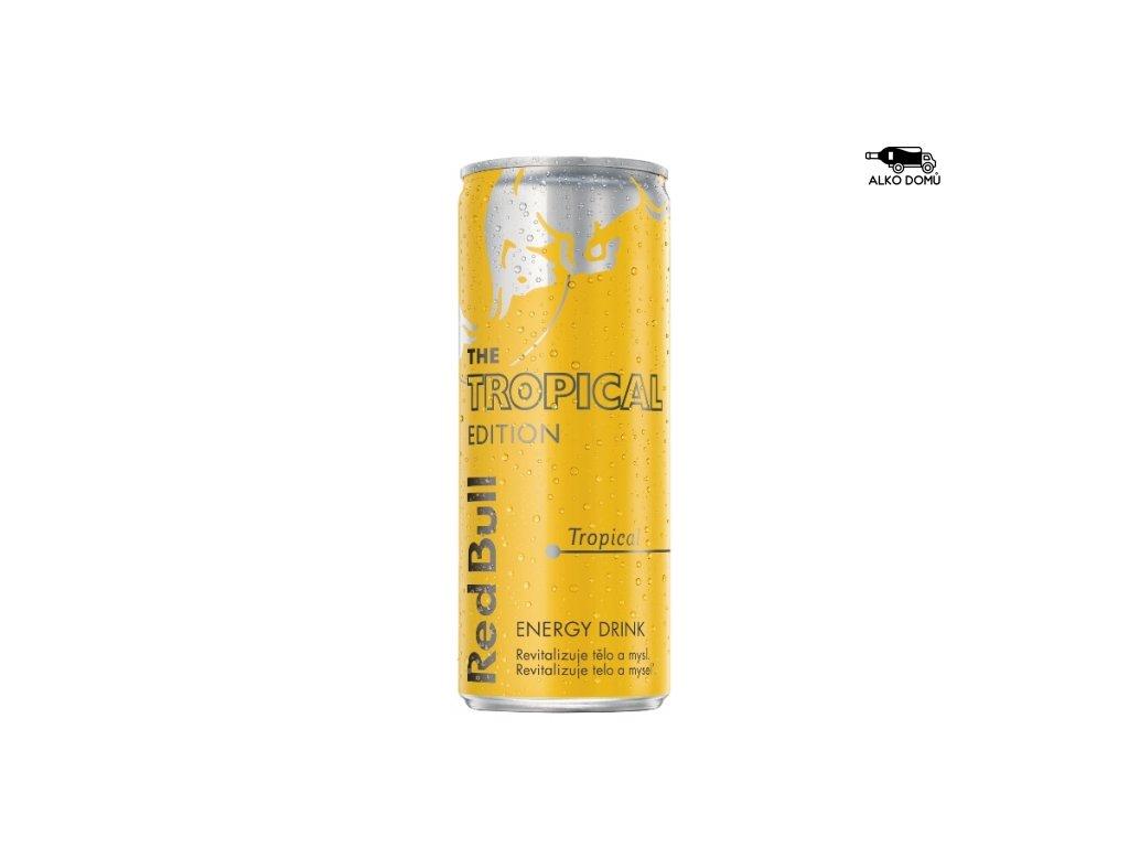 Red Bull tropical Rozvoz alkoholu Praha