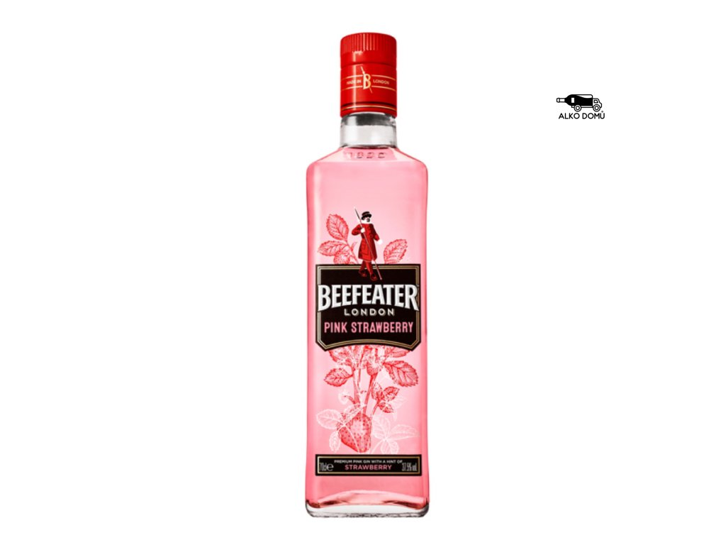 BEEFEATER PINK STRAWBERRY GIN Rozvoz alkoholu Praha