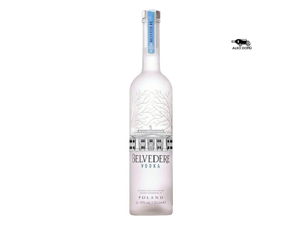 BELVEDERE PURE VODKA. Rozvoz alkoholu Praha