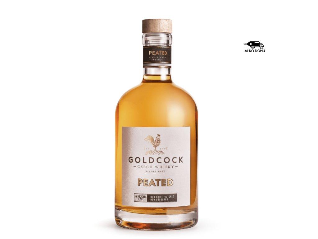 GOLDCOCK Peated. Rozvoz alkoholu Praha