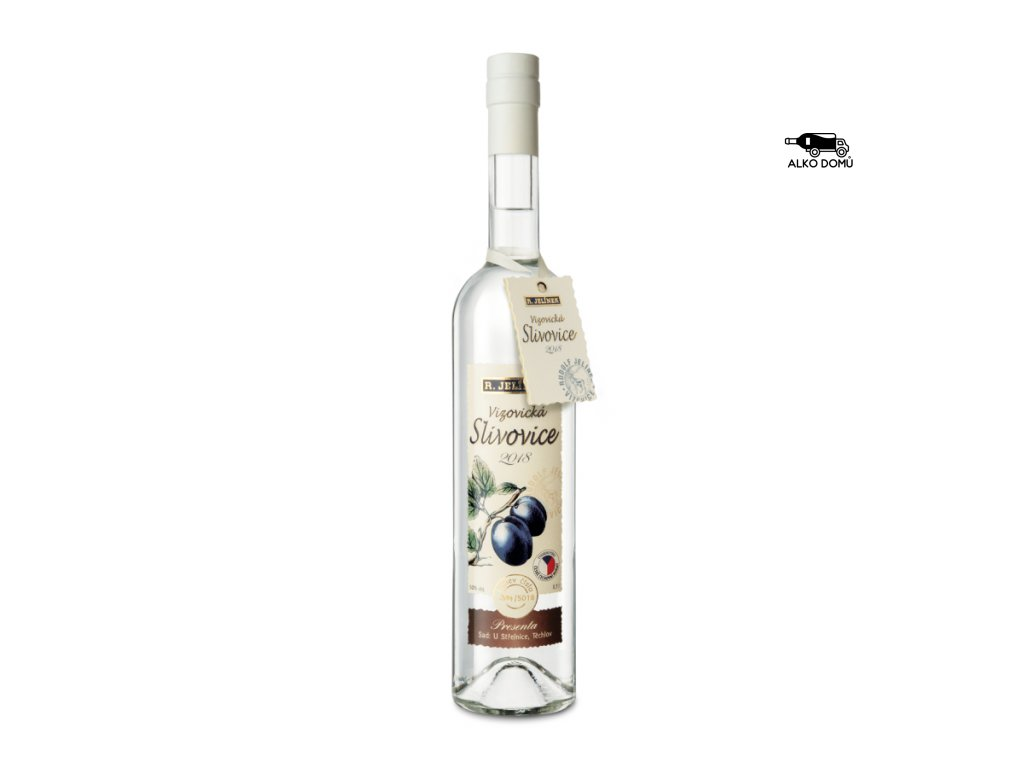 Vizovická slivovice 2018 Presenta. Rozvoz alkoholu Praha